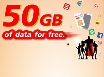 Get Free 50 GB of Data, Just Simply Upgrade to 4G SIM