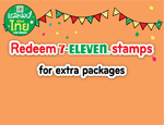 Collect 7-Eleven Stamps and Enjoy More