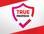 TRUE PROTECH is now ready to take care of your device
